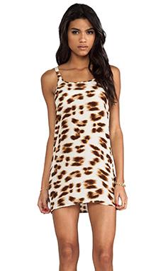 Friend of Mine Drifter Animal Print Dress in Leopard