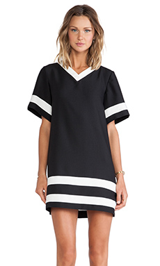 The Fifth Label No Future Dress in Black & Ivory