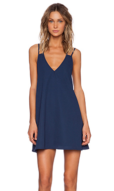 The Fifth Label Don't Look Back Dress in Navy