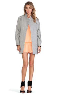 The Fifth Label Furthest Thing Coat in Light Grey
