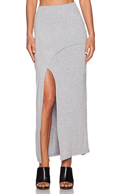 The Fifth Label Ninth Wave Maxi Skirt in Grey Marle