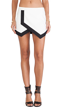 The Fifth Label In the Night Skirt in Ivory & Black