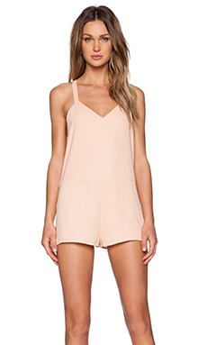 The Fifth Label Lost Soul Playsuit in Apricot