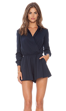 The Fifth Label Desert Rain Playsuit in Navy