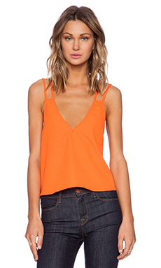 The Fifth Label Don't Look Back Top in Bright Orange