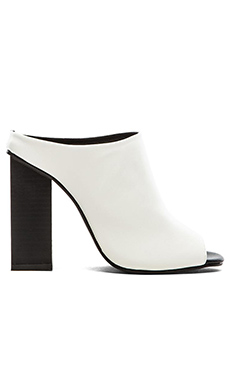 The Fifth Label Mean Mule Heel in White