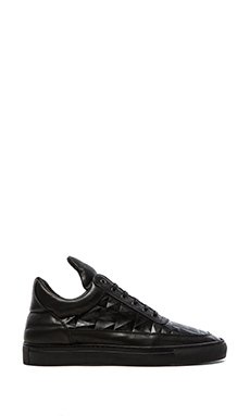 Filling Pieces Low Top Lingotto in Black