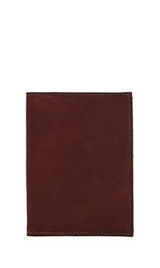 Filson Passport Case in Cognac