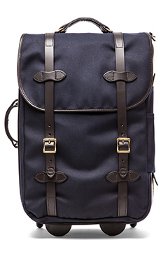 Filson Wheeled Carry-On in Navy