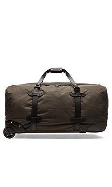 Filson Nylon Wheeled Duffle Bag in Otter Green
