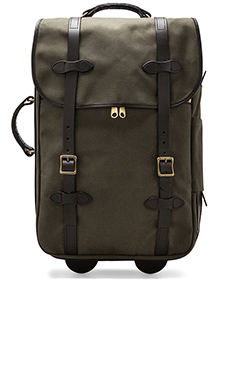 Filson Wheeled Carry-On in Otter Green