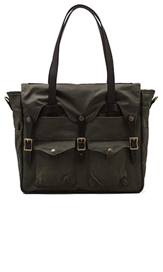 Filson Tote Briefcase in Otter Green & Otter Green