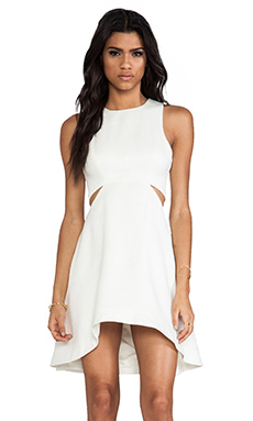 Finders Keepers Call me Dress in Ivory