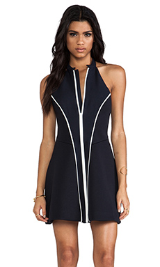 Finders Keepers Now Or Never Dress in Dark Navy