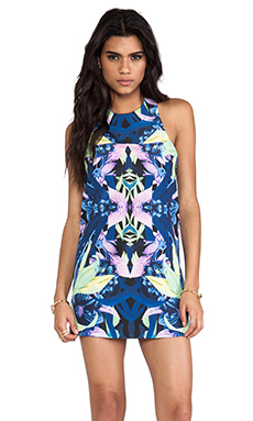 Finders Keepers Steal The Light Dress in Lilium Print Dark