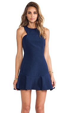 Finders Keepers Resolution Dress in Navy