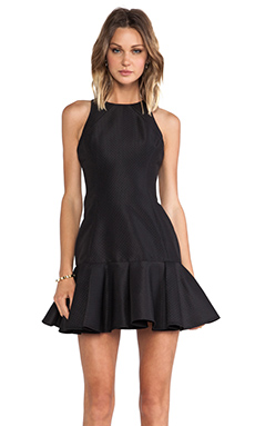 Finders Keepers Time Traveler Dress in Black