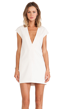 Finders Keepers Electric City Dress in Light Apricot