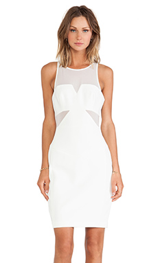 Finders Keepers Nothing to Lose Dress in White