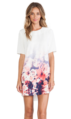 Finders Keepers Good Fortune Dress in Ombre Floral
