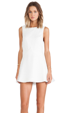 Finders Keepers Easy Easy Dress in White