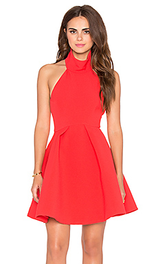 Finders Keepers Smoke Trails Dress in Red