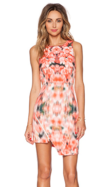 Finders Keepers Way to go Dress in Blurred Floral