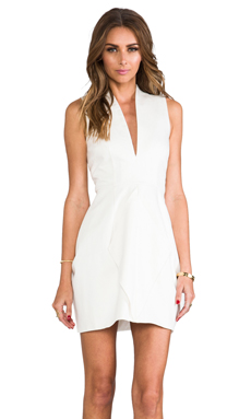 Finders Keepers Never Again Dress in Ivory