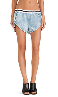 Finders Keepers Atlantic City Short in Denim