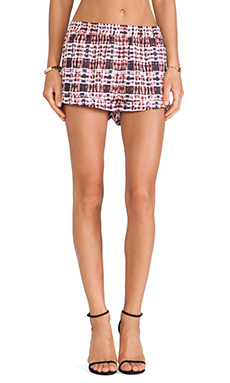 Finders Keepers Dream Weaver Short in Tartan Print