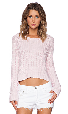 Finders Keepers Forever Knit in Powder Pink