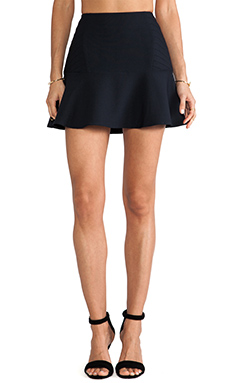 Finders Keepers Retrograde Skirt in Navy