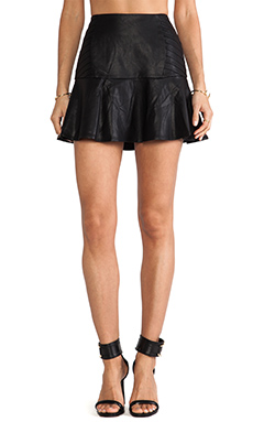 Finders Keepers Retrograde Skirt in Black