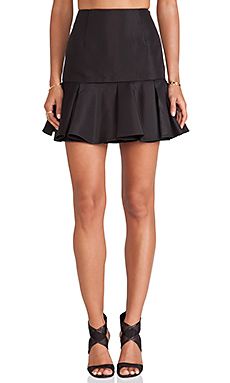 Finders Keepers Time Traveler Skirt in Black