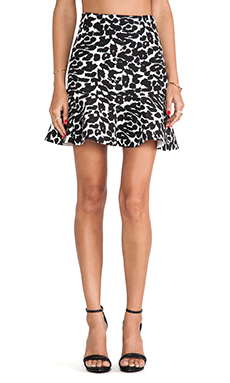 Finders Keepers Like Smoke Mini Skirt in Leopard Print