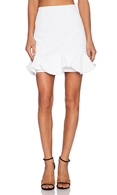Finders Keepers Sail Away Skirt in White