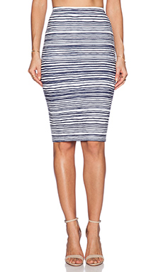 Finders Keepers Take a Chance Skirt in Busy Stripe