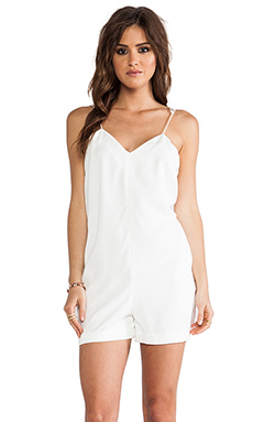 Finders Keepers Love Me Do Playsuit in Ivory