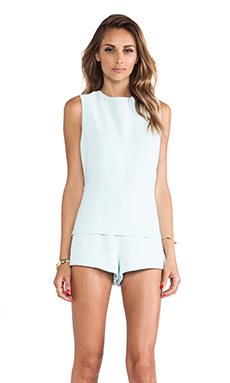 Finders Keepers Inner Light Playsuit in Glacier Blue