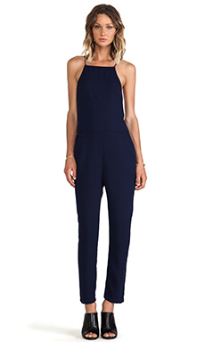 Finders Keepers Strange Fire Jumpsuit in Navy