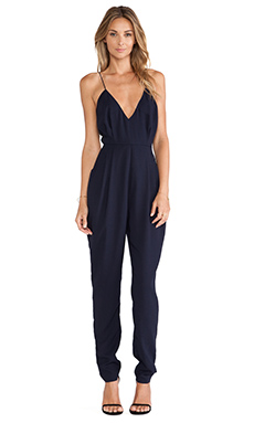 Finders Keepers Dream On Jumpsuit in Dark Navy