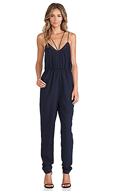 Finders Keepers At It Again Jumpsuit in Dark Navy