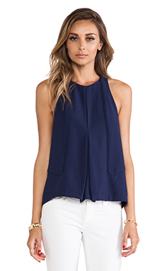 Finders Keepers No One Like You Top in Navy