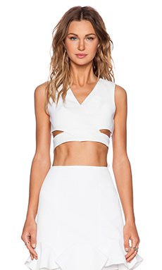 Finders Keepers Moonlight Top in White