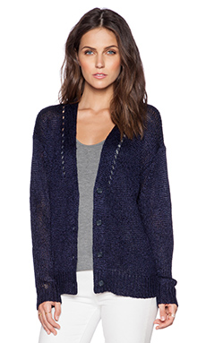 Fine Collection Cardigan in Navy