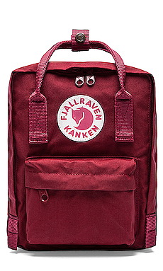 Fjallraven Kanken Mini Backpack in Ox Red