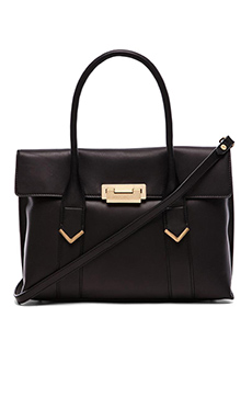 FLYNN Franklin Tote in Black