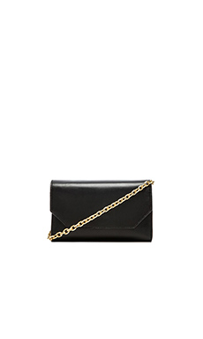 FLYNN Clover Crossbody in Black