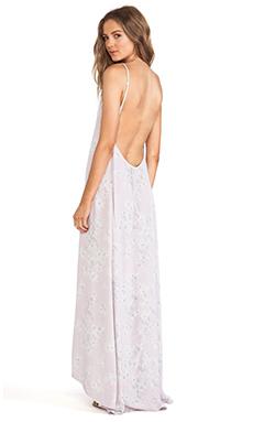 FLYNN SKYE Scoop Back Maxi Dress in Lavender Fields