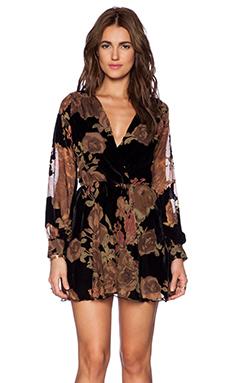 FLYNN SKYE Elle Mini Dress in Burnt Rose